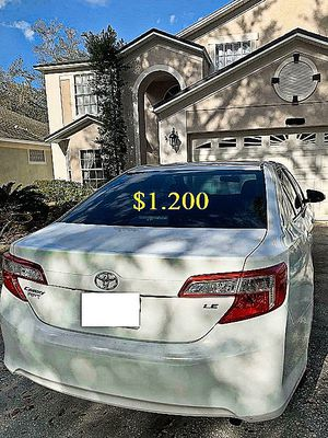 🍀$12OO🍀URGENT For sale🍀2013 toyota camry🍀Excellent Clean Title🍀 for Sale in San Francisco, CA