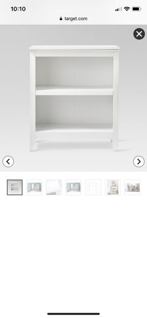 2 brand new Target Carson Bookshelves, still in box for Sale in Raleigh, NC