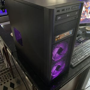 RGB Gaming, VR or Streaming Computer AMD 8 Core 24GB RAM 240GB SSD + 3TB HDD GeForce GTX 670 FAST! for Sale in Queen Creek, AZ