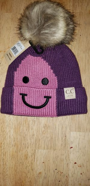 CC Kids Purple Lined Beanie for Sale in Rockland, MA