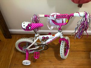 Hello kitty girls bike in great condition for Sale in Bethesda, MD