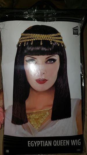 Egytian Queen Cleopatra Wig for Sale in Irwindale, CA