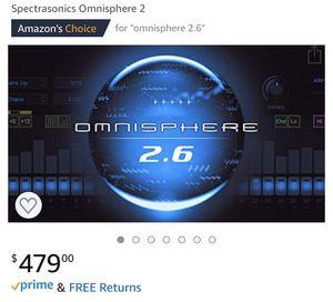 SPECTRASONICS OMNISPHERE 2 for Sale in South Amboy, NJ