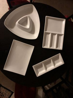 Serving Dishes - Everyday White from BB&an for Sale in Essex, MD