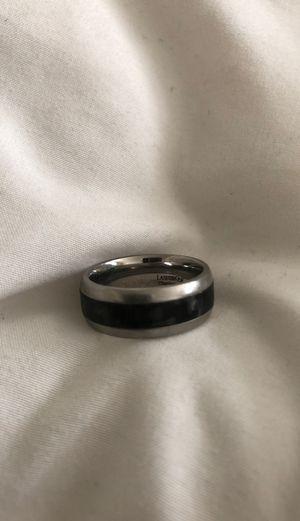 Men's titanium wedding ring. Lashbrook brand. for Sale in Harvey, MI