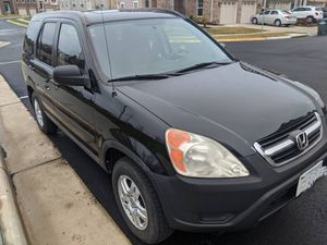 2004 HONDA CRV EX, AWD, No Accident with clean title for Sale in Ashburn, VA