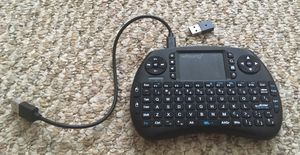 Wosung Mini Wireless Keyboard with touch Pad Mouse for Sale in Greece, NY