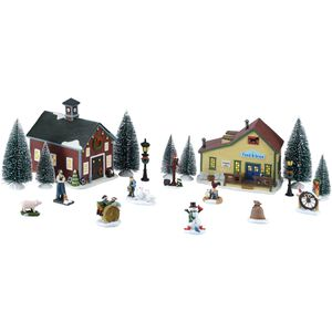 20 Pieces Christmas Themed Village for Sale in Henderson, NV