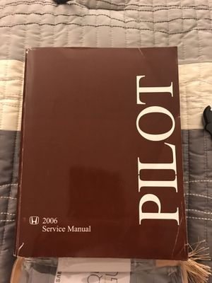2006 Factory Service Manual for Honda Pilot for Sale in PA, US