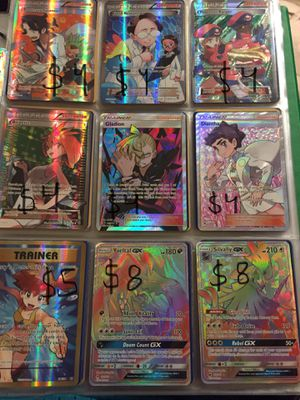 Pokémon Pokemon Pocket Monster Cards PAY PER CARD (Ask for availability) Collection Lot for Sale in Jacksonville, FL