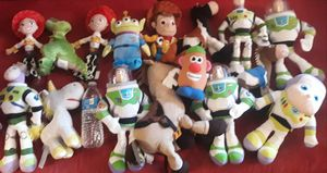 Toy story plushies $9 each for Sale in Hawthorne, CA