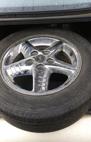 To Pontiac rims and tires for Sale in Colfax, IA