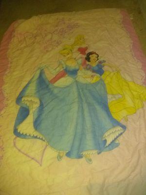 Twin Disney princess comforter for Sale in Crestview, FL