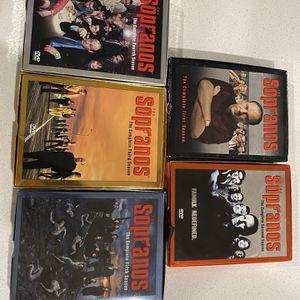 Sapranos Season 1-5!! for Sale in Mesquite, TX