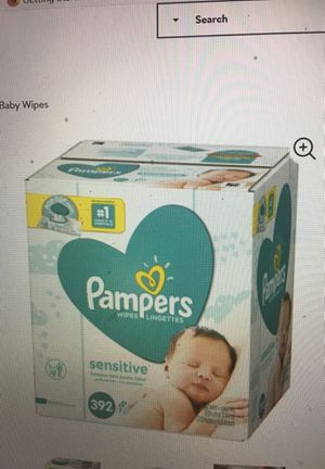 Pampers sensitive wipes for Sale in Columbus, OH