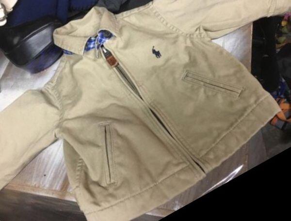 Baby Polo coat size 12M