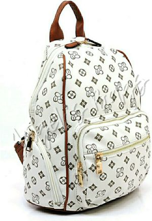 Ivory Monogrammed Backpack for Sale in Miami, FL