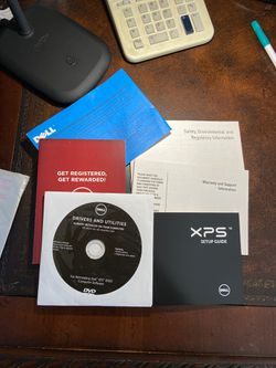 Dell Drivers and Utilities cd and setup guide for Sale in Anderson,  SC