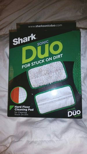 NEW BOX SHARK DUO STEAM MOP PAD for Sale in Houston, TX