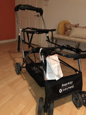 Double car seat stroller, great condition for Sale in Irving, TX