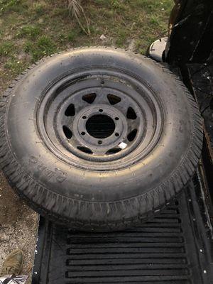 ST225/75D15 6 lug trailer wheel for Sale in West Palm Beach, FL