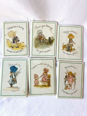Antique Holly Hobbie ceramic wall plaques for Sale in Lynnwood, WA