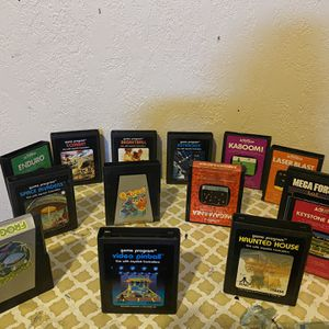 Nintendo games Atari for Sale in North Tustin, CA