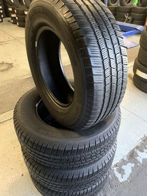 265/70/18 set of Michelin tires installed for Sale in Ontario, CA
