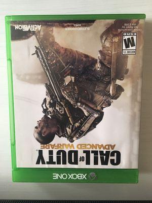 Advanced warfare (Xbox one) for Sale in Ellensburg, WA