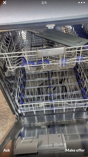 Black dishwasher stainless bin delivery and installation available for Sale in Orlando, FL