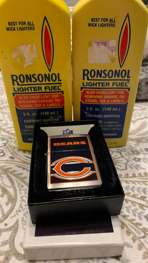 Chicago Bears zippo lighter for Sale in Bolingbrook, IL