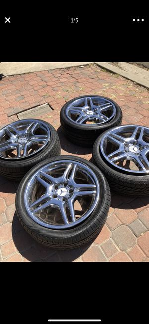 "Mercedes Amg Wheels 18"" for Sale in San Diego, CA"