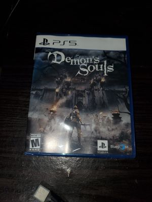 Demon Soul PS5 playstation 5 for Sale in Hollywood, FL