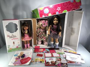 American Girl Precious Moments Dolls for Sale in Watertown, CT