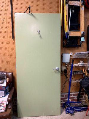 Industrial door with coat hook for Sale in Cary, NC