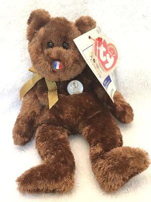 2002 FIFA ty beanie baby France 🇫🇷 soccer ⚽️ bear 🐻 for Sale in Alpharetta, GA