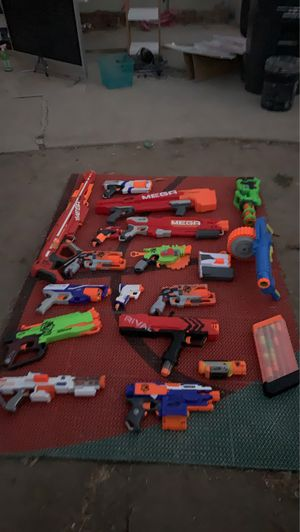 18 nerf guns bullets not including for Sale in Simi Valley, CA