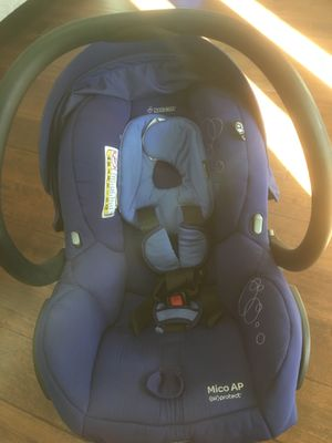 Maxi Cosi Mico AP Infant Car Seat Reliant Blue for Sale in Los Angeles, CA