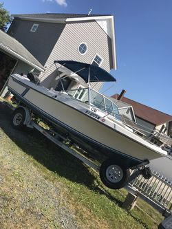 Wellcraft 1987, 225HP Yamaha, EZ loaded trailer for Sale in Milford,  MA