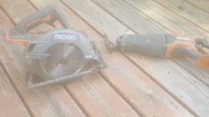 Ridgid Skilsaw and Sawzall for Sale in Lincoln, NE