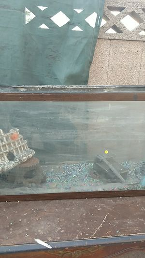 30 gallon fish tank no leaks totally sealed nice perfect for fish for Sale in Phoenix, AZ