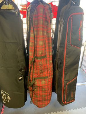 Burton 166 travel snowboard bag with boot bag for Sale in Las Vegas, NV