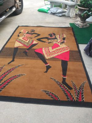 """African Dance Rug 7long 'x5' and 5""""wide for Sale in Ellenwood, GA"""