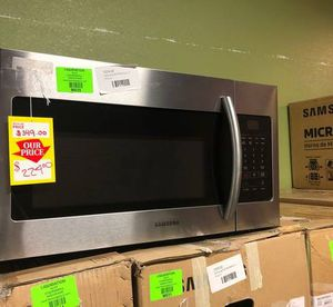 Stainless Steel Samsung Microwave Over The Range‼️ GLT for Sale in Fort Worth, TX