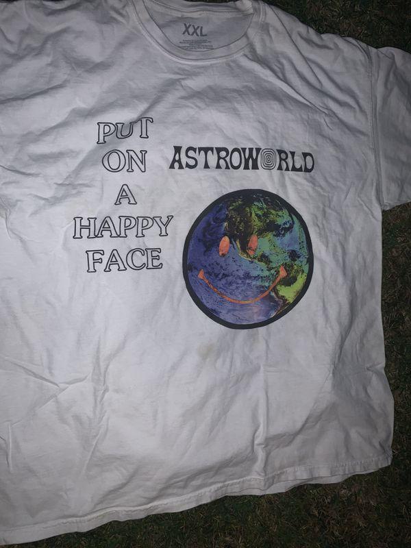 Travis Scott Astro world shirt size XXL