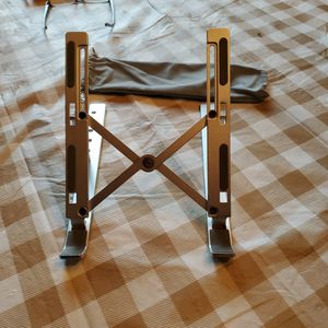 Silver And Gray Laptop Stand for Sale in Livingston, CA