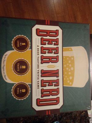Beer Nerd Trivia Board Game for Sale in Atlanta, GA
