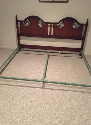 King bed frame for Sale in Westminster, CO