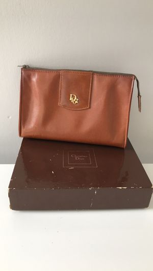 Auth Vintage Dior Makeup Bag for Sale in Orange, CA