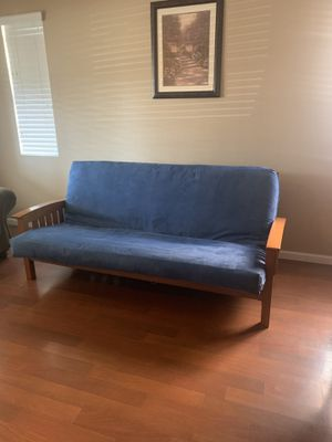 Wood Frame Futon GOOD CONDITION for Sale in Lake Elsinore, CA